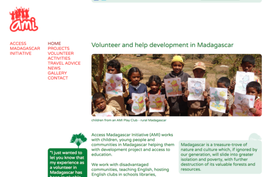 Access Madagascar Initiative home page